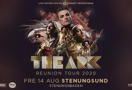 Konsert på Västkusten med The Ark - flyttat till 13/8-21